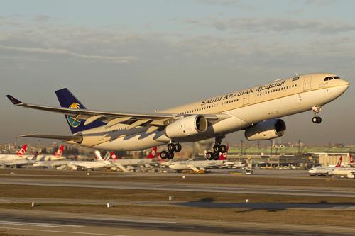 الخطوط السعودية ايرباص A330