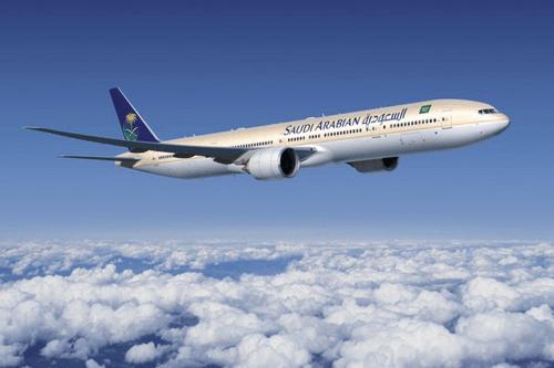 طائرة الخطوط السعودية بوينج 777