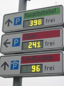 مواقف السيارات في اوروبا