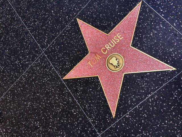 نجمة توم كروز في هوليود