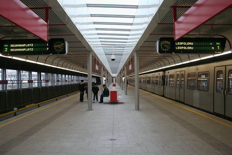 شرح كيفية التنقل عبر مترو فيينا بالصور