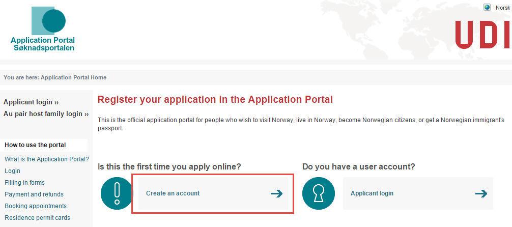 شرح التقديم للحصول على التأشيرة النرويجية بالصور