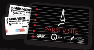 بطاقة مترو باريس