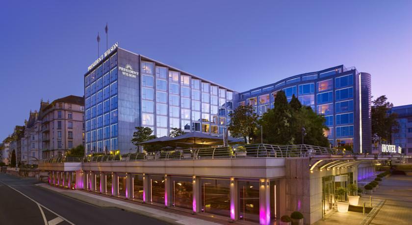 فندق بريزيدنت ويلسون جنيف