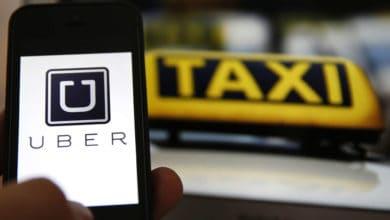 صورة تطبيق التاكسي المهم للسائح اوبر Uber