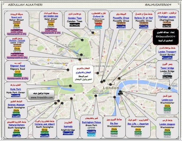 الدليل السياحي الشامل الى لندن