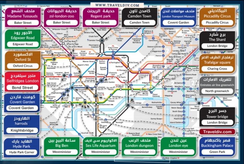 دليل لندن السياحي الشامل ترافيل ديف