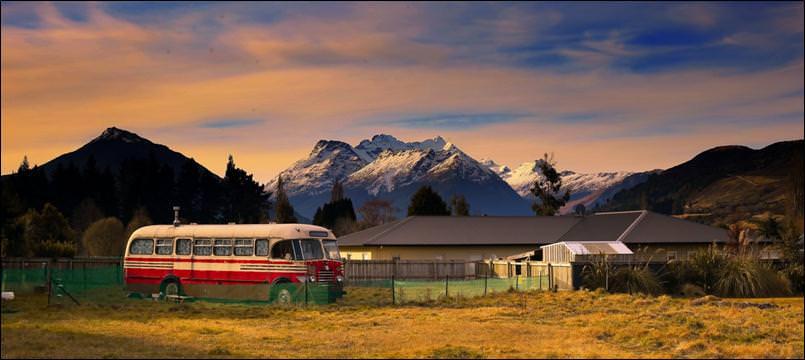 قرية جلينورتشي glenorchy في نيوزيلندا