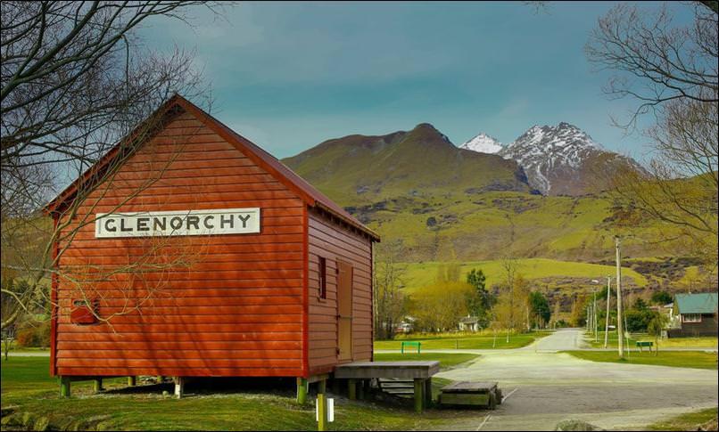 قرية جلينورتشي glenorchy نيوزيلندا