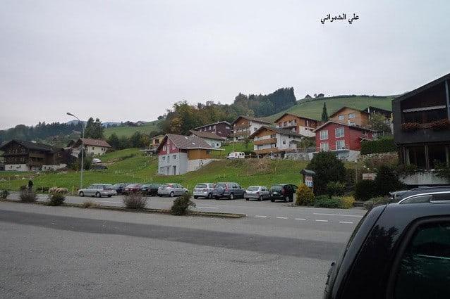 رحلتي الى سويسرا