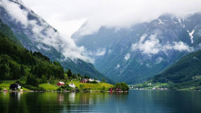 احداثيات النرويج