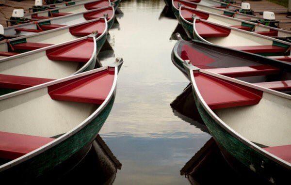 القوارب في جيثورن