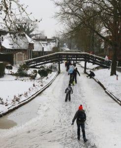 جيثورن في الشتاء