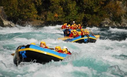 التجديف Riversurfing +Rafting
