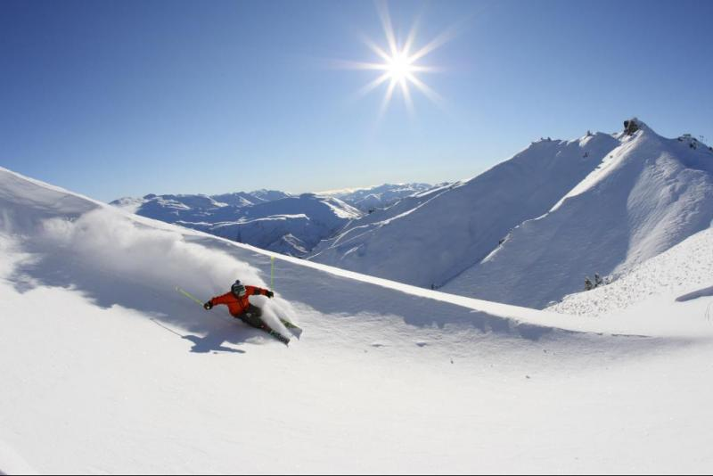 قمة Coronet الثلجية