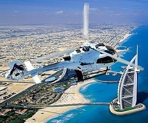 هليكوبتر دبي