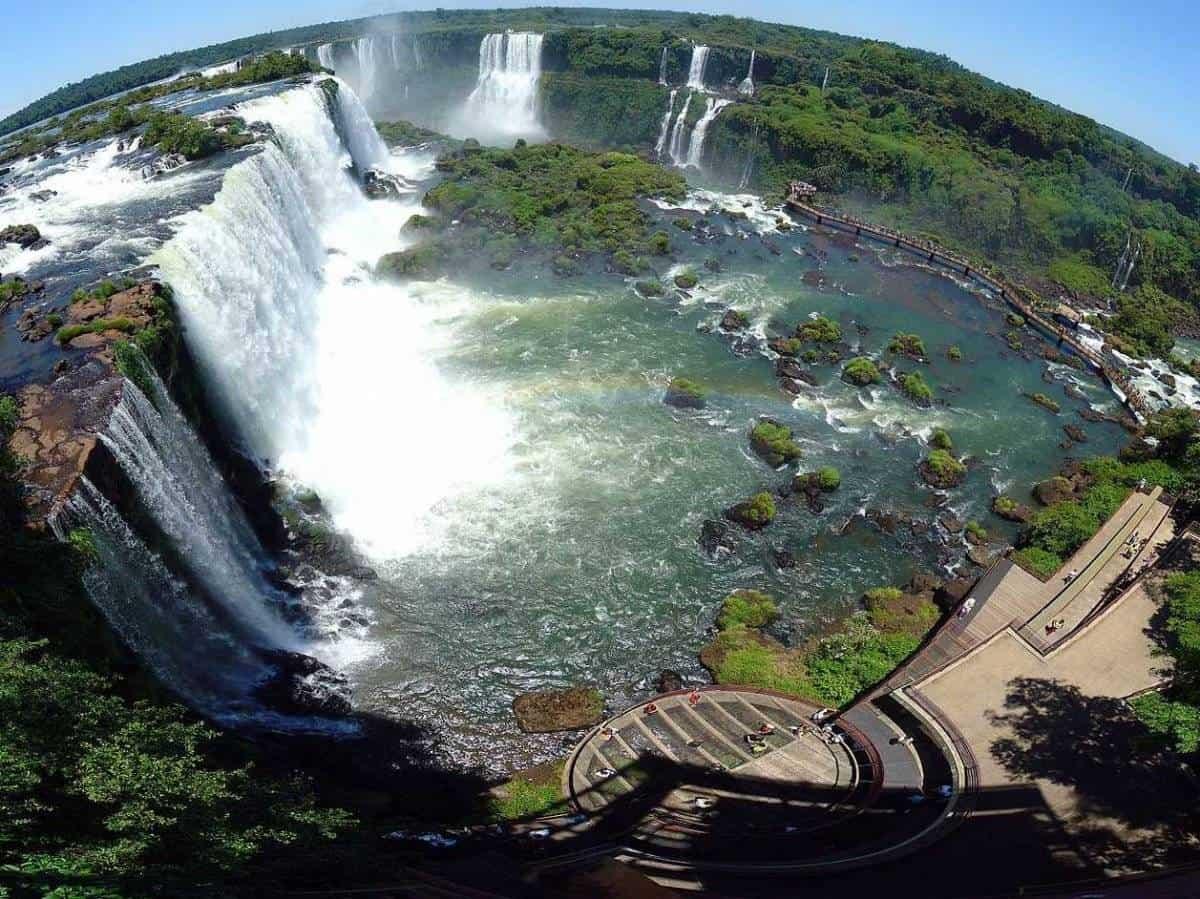 الحدود بين البرازيل و الارجنتين