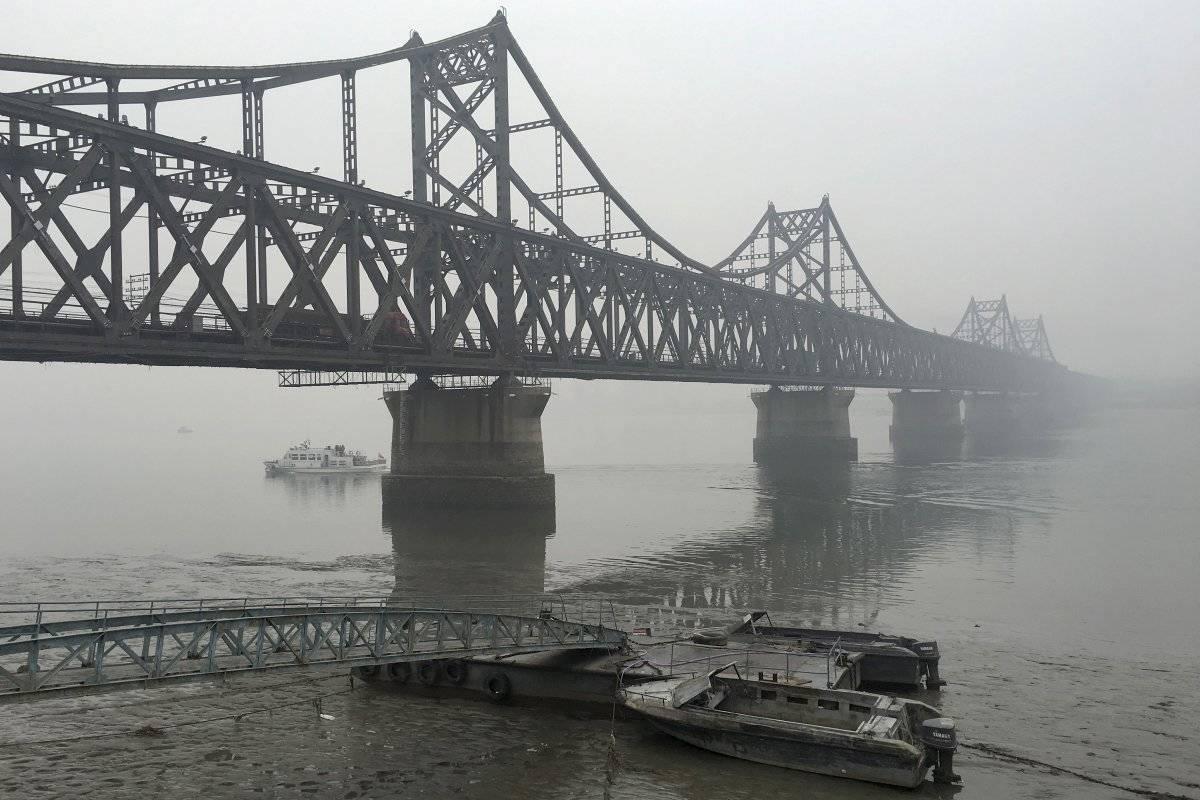 الحدود بين الصين و كوريا الشمالية