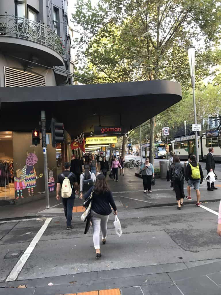 شارع المشاة Buorke Mall Street