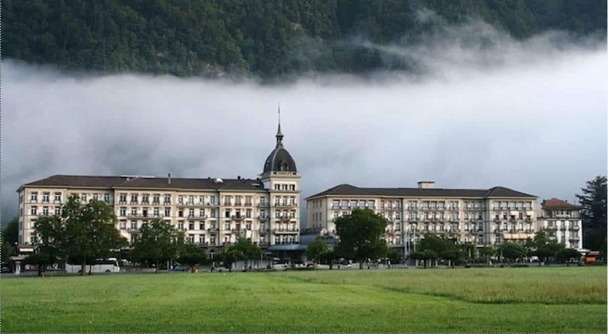 نتيجة بحث الصور عن فندق فكتوريا انترلاكن