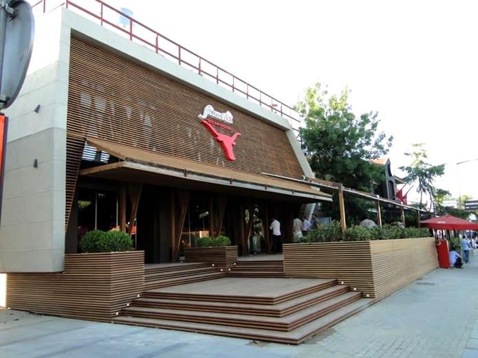 مطعم نصرت الاشهر في اسطنبول