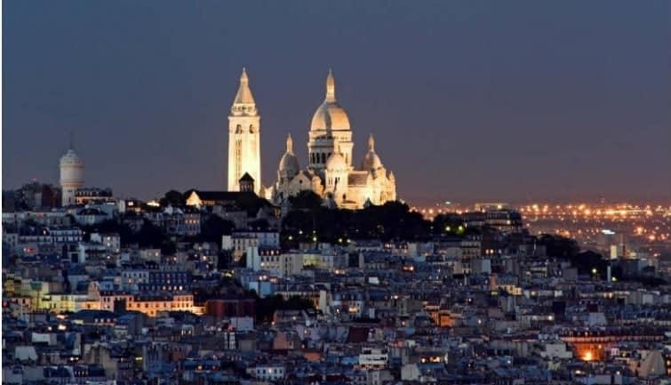 هضبة المونمارت Montmartre