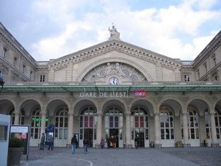 محطة القطارات غار دي ايست Gare de l'Est