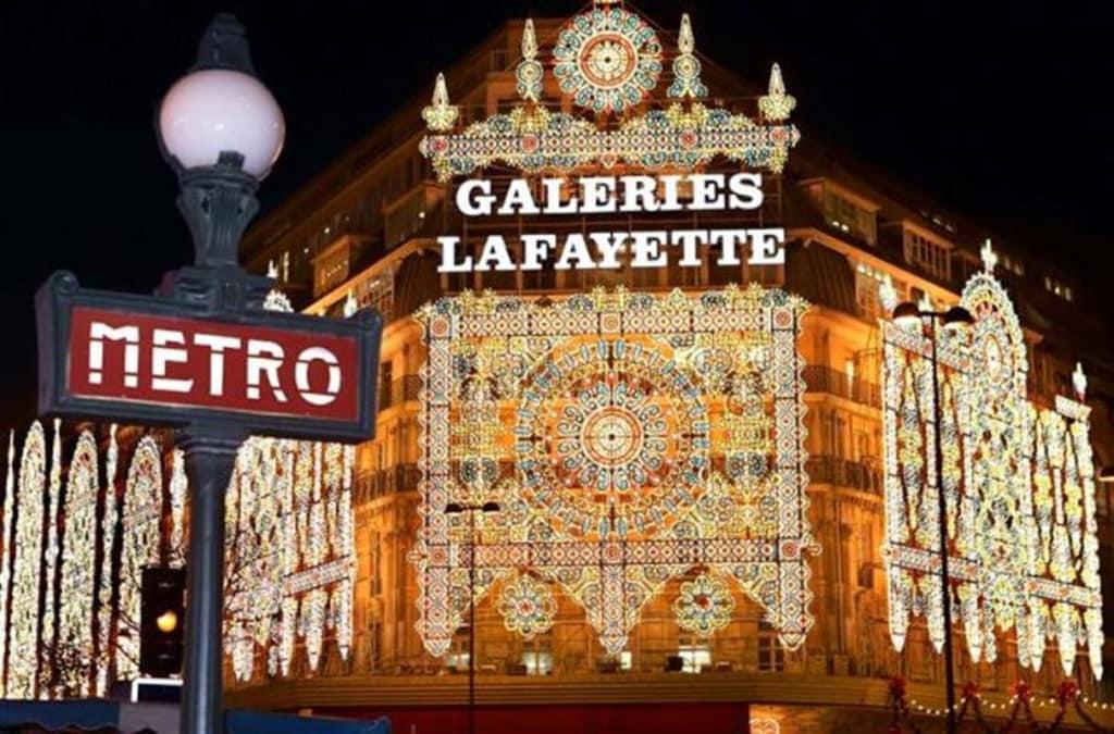 غاليري لافاييت Galeries Lafayette