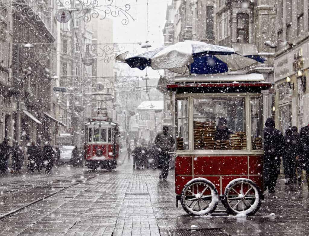 نتيجة بحث الصور عن Winter istanbul