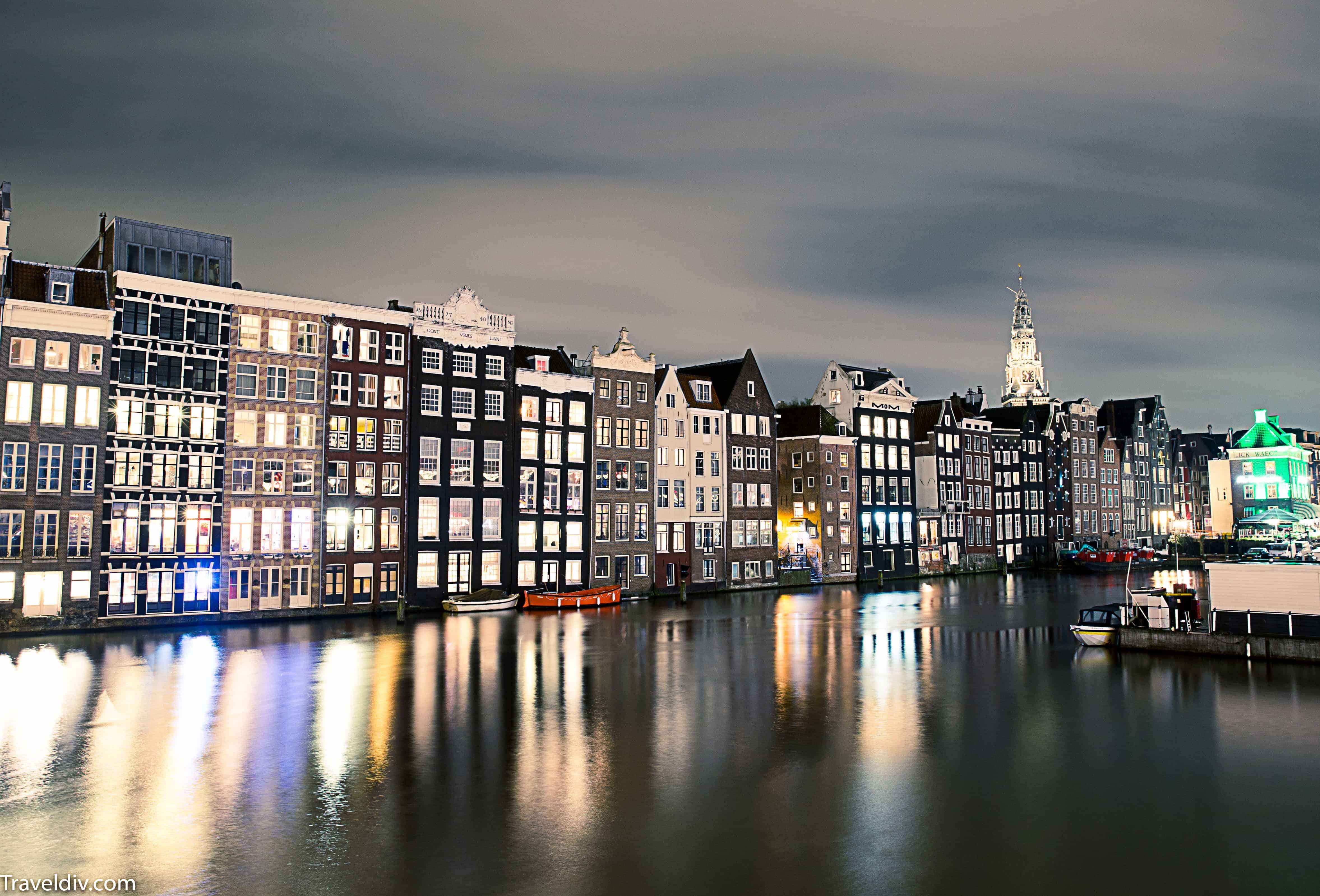 تقرير رحلتي الى امستردام مدينة الحب في هولندا مع جدول سياحي لسبعة