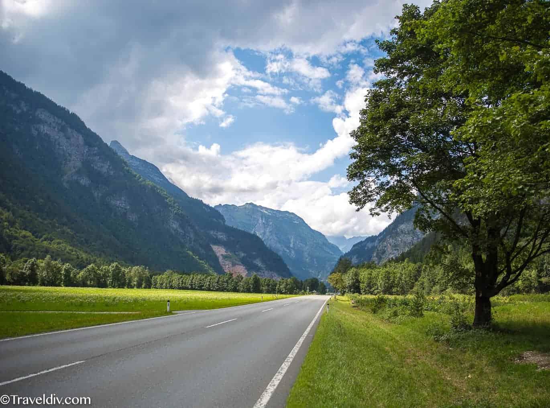 الطريق من زيلامسي الى بحيرة الملك