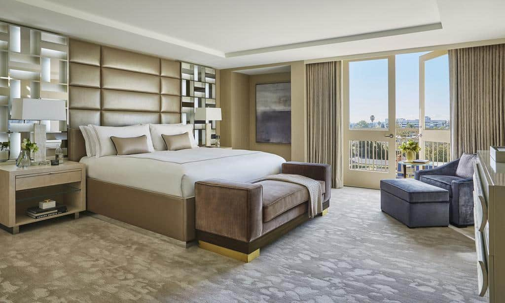 100 افضل فنادق لوس انجلوس مع مجموعة من الشقق المميزة في مناطق امنة للسكن