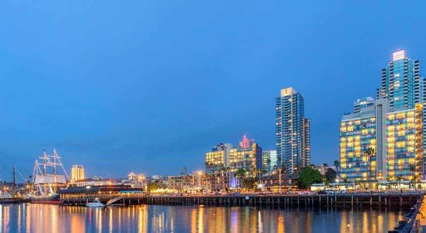 خليج سان دييغو وفندق ويندهام سان دييغو