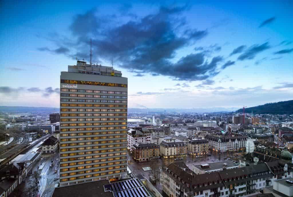 مبنى سويس أوتيل زوريخ العالي