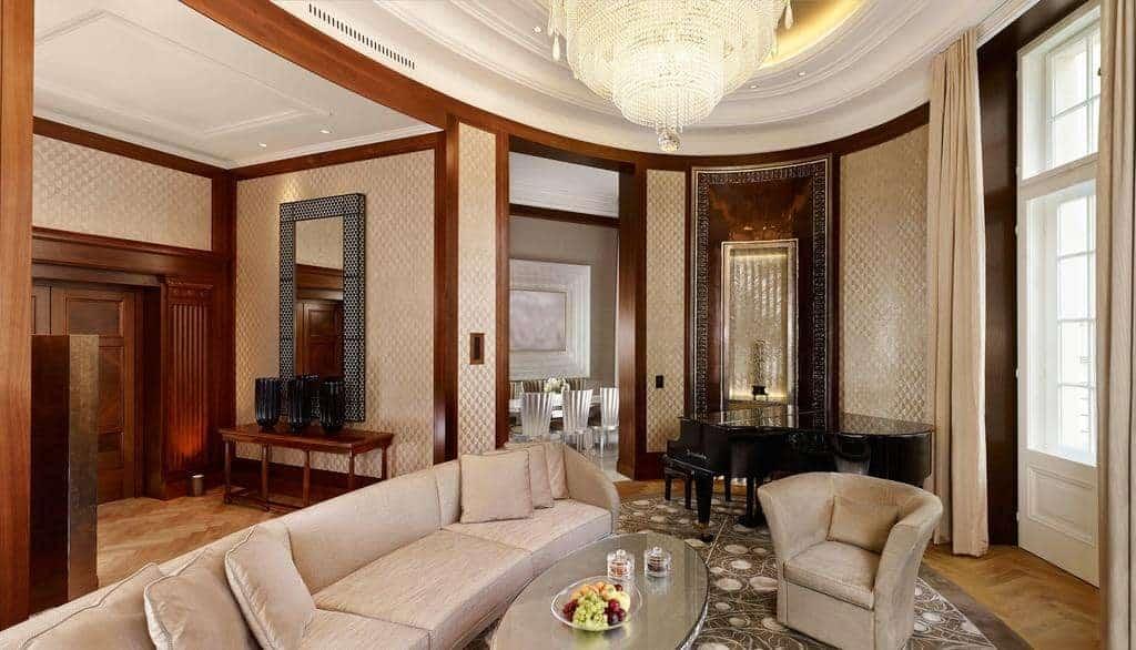 غرفة جلوس في بارك حياة فيينا