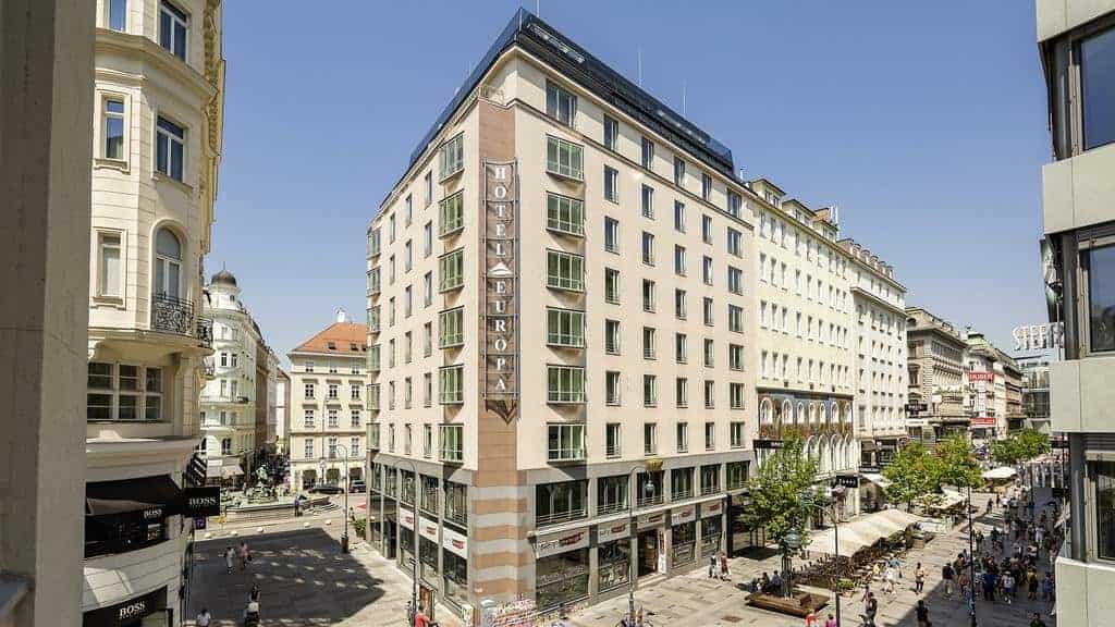واجهة فندق تريند النمسا أوروبا فيينا