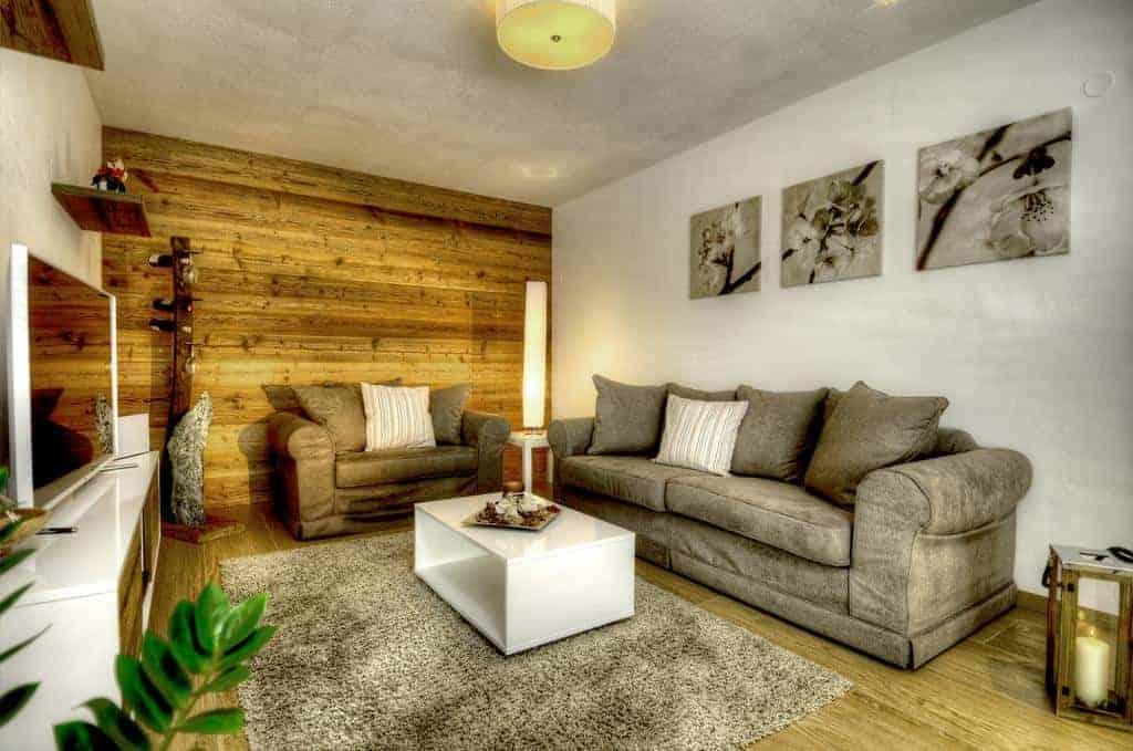 غرفة الجلوس في داس ليشتنبيرغ ووتر سايد