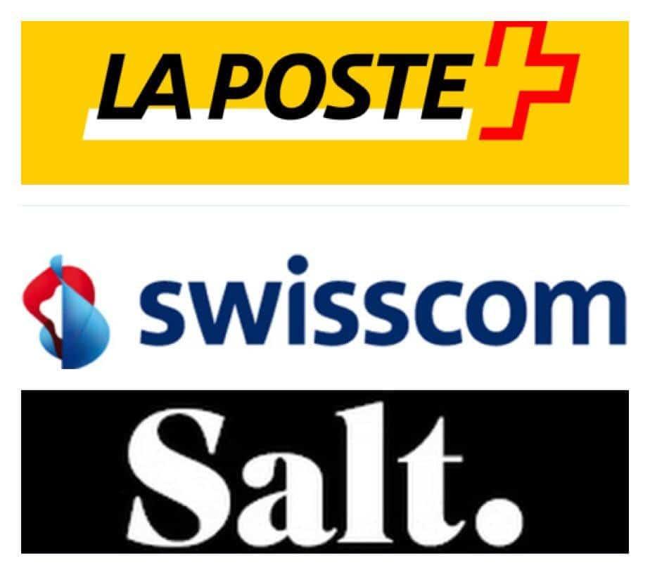 شعارات شركات الاتضال السويسرية