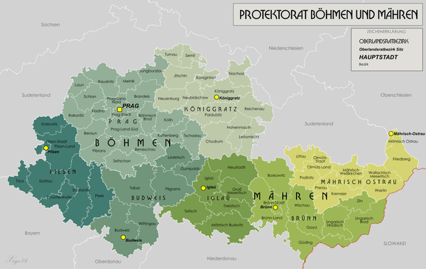 خريطة التشيك