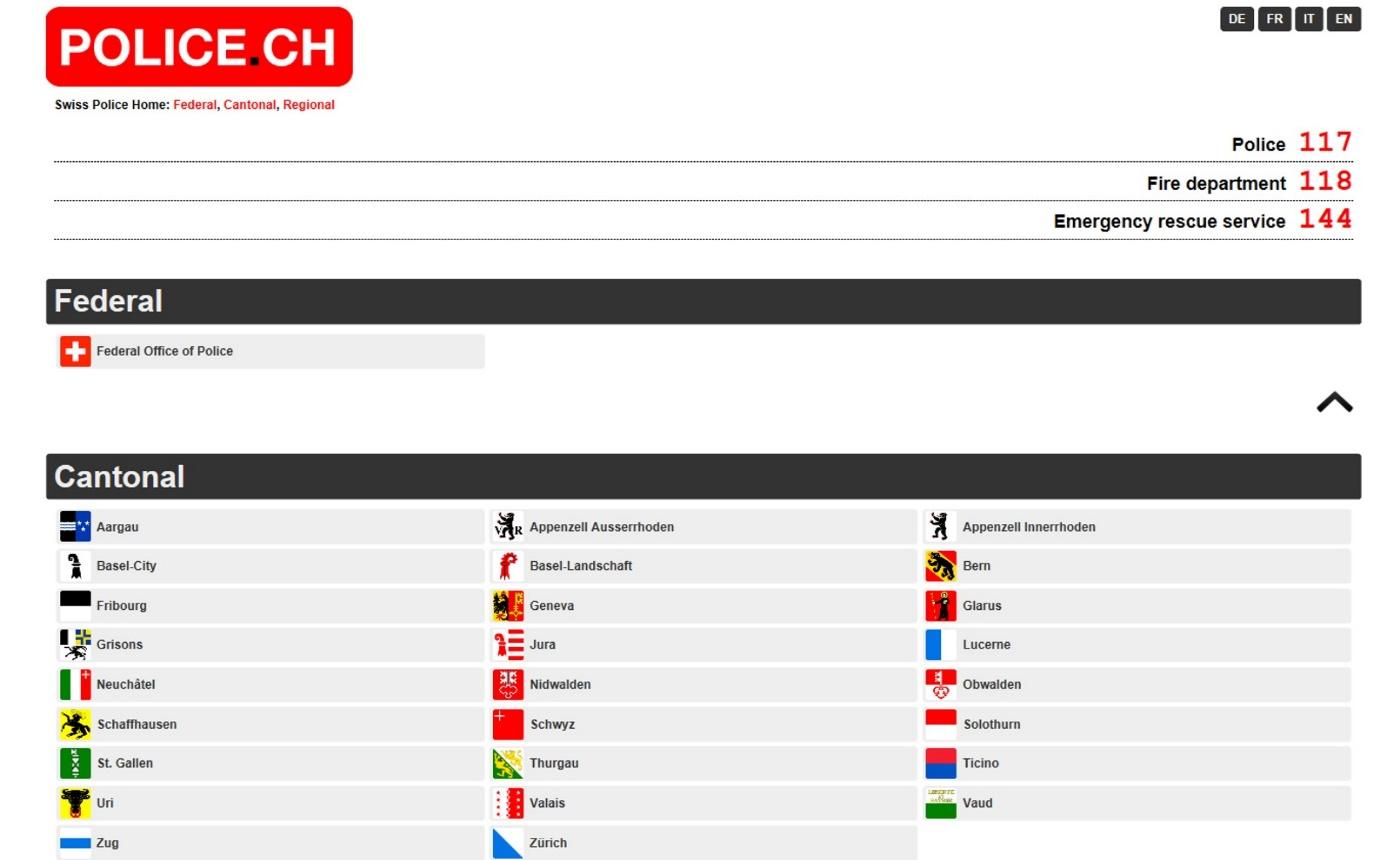 موقع تسديد المخالفات في سويسرا