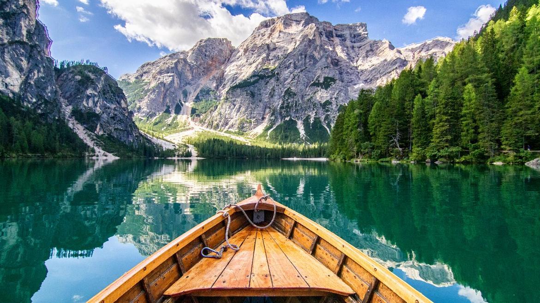 بحيره وشلال برايس Lago di Braies