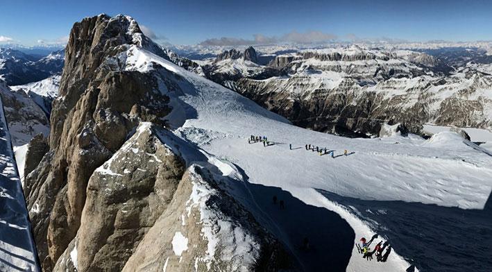 الصعود لقمة مرملادا Marmolada