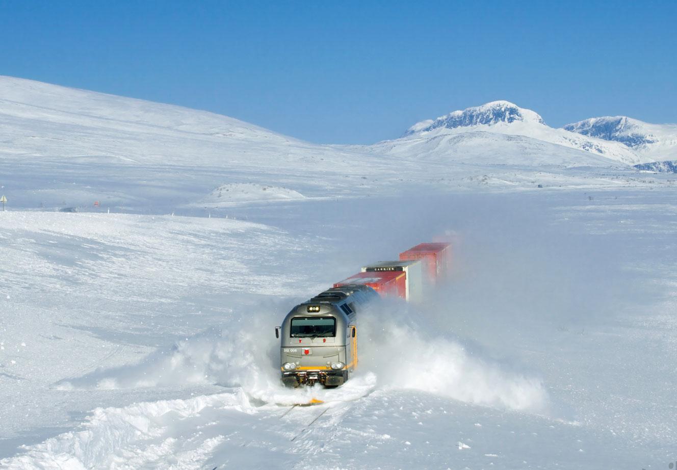 المواصلات العامة في النرويج :