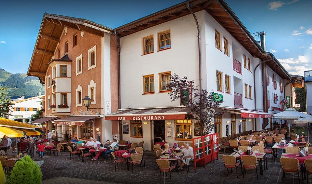 واجهة مطعم و فندق فاينمشيك