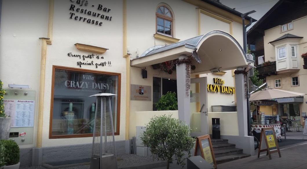 واجهة مطعم كرايزي دايزي
