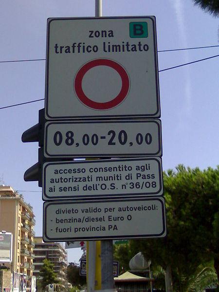 المناطق المحظور دخول السيارات لها في اوروبا ZTL , ادخل حتى لا تحصل على مخالفة مروروية باهضة الثمن .