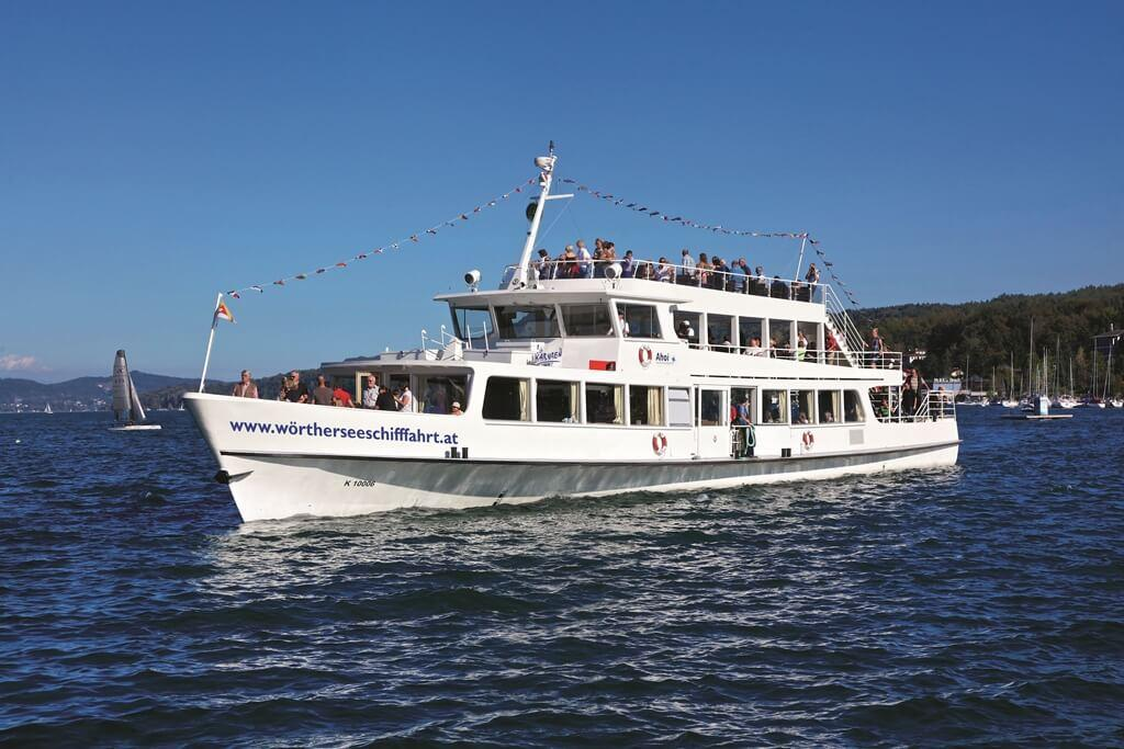 Image result for BOAT TOURS Wörthersee