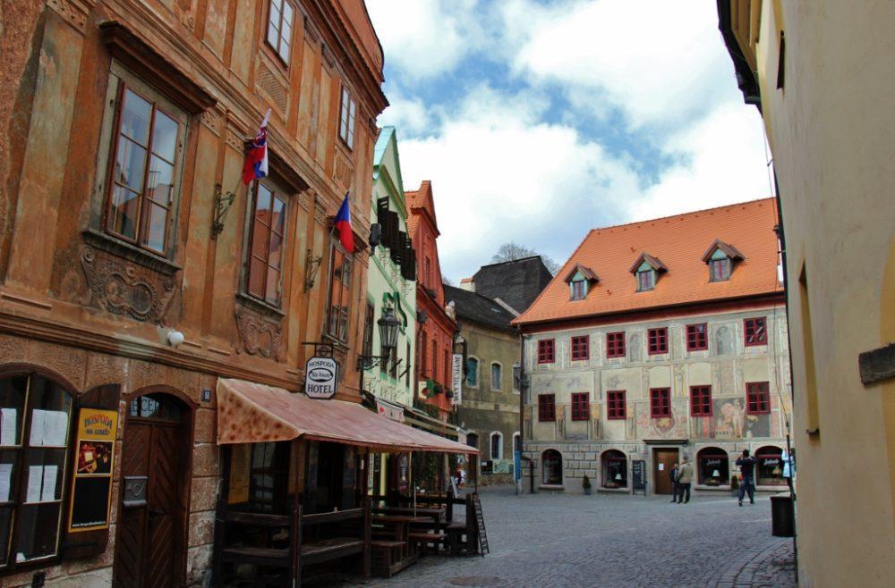 Image result for Český Krumlov old streets