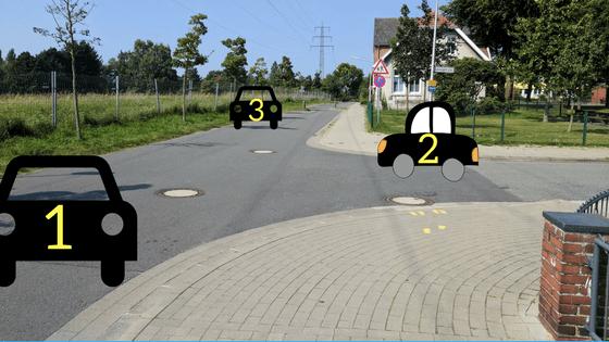 لوحات و قوانين مرورية يجب أن تعرفها عند القيادة في المانيا و اوروبا عموماً