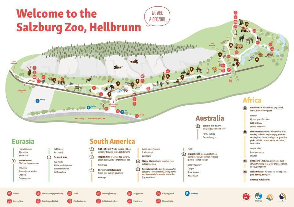 Image result for Salzburg Zoo